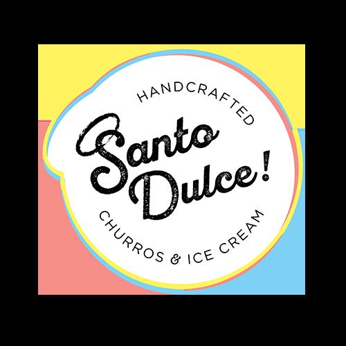 Santo Dulce Churros Ice cream Miami Florida NightLight outdoor movies